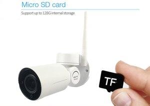 Image 4 - Hi3516C + Sony IMX291 Audio Starvis 5X Zoom Wireless wifi IP PTZ Network Camera Outdoor CCTV Security Cam 2.7 13.5mm Lens onvif