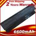 6600mAh 9 celdas de la batería A31-N56 A32-N56 A32-N46 A33-N56 para Asus N46 N46V N46VM N46VZ N56 N56D N56V N56VV N56VZ N76 N76V