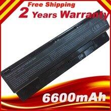 6600mAh 9 komórki akumulator do laptopa A31 N56 A32 N56 A32 N46 A33 N56 dla Asus N46 N46V N46VM N46VZ N56 N56D N56V N56VV N56VZ N76 N76V
