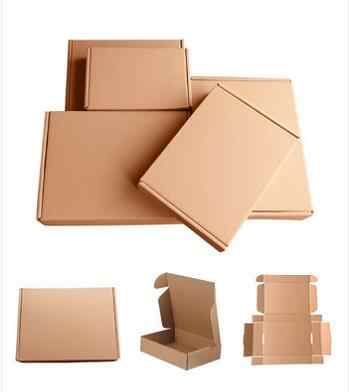 factory wholesale Cardboard Packing boxes for shirt with your LOGO ,1000pcs a lot (free shipping)