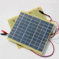 5Watt 18V Solar Panel Solar Cell 5 Watt For 12 Volt Garden Fountain Pond Battery