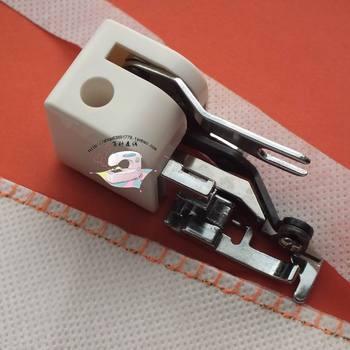 Borde Recto De Acero | Máquina De Coser Doméstica Pie De Costura Cambio Recto Pie De Costura Prensatelas Corte Automático Cuchillo Borde