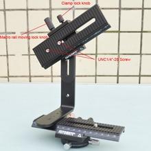Оригинальные оригинальные FOTOFANS новые дешевые панорамные головки 360 градусов DIY Узловая съемка матрица Узловая головка макро слайдер для DSLR Canon