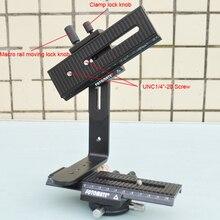 Auténtico Original FOTOMATE nueva barato panorámicas cabeza 360 degree DIY Nodal tiro matriz Nodal Macro cabeza Slider para DSLR