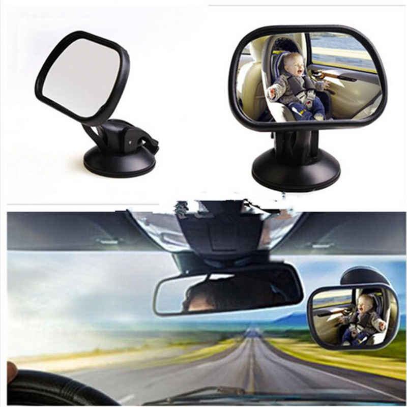 Adjustable Sucker Mini Easy View Mirror Baby Infant Car Seat Inside Mirror Back Safety Rear Interior Mirror High quality