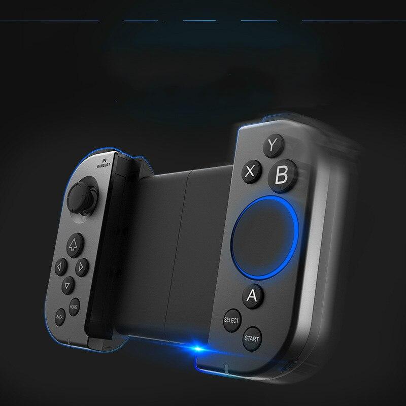 Manette de jeu Handjoy Tmax avec bouton tactile pour jeux mobiles clavier pris en charge par le système android ios