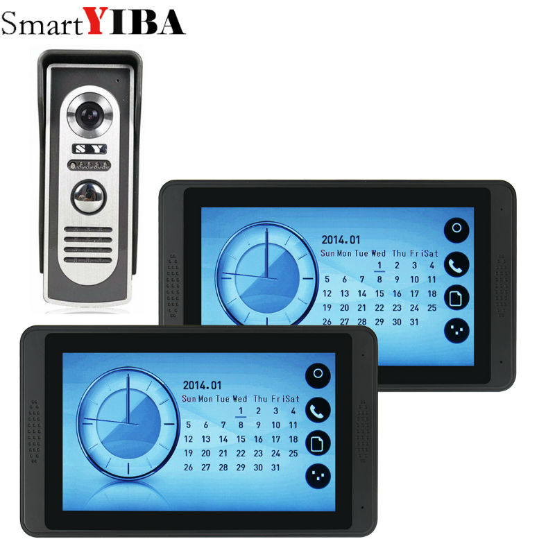 Full touch screen 7 Wired Video Intercom Video Doorbell With Outdoor Camera Visual Intercom Remote Unlock Video Door PhoneFull touch screen 7 Wired Video Intercom Video Doorbell With Outdoor Camera Visual Intercom Remote Unlock Video Door Phone