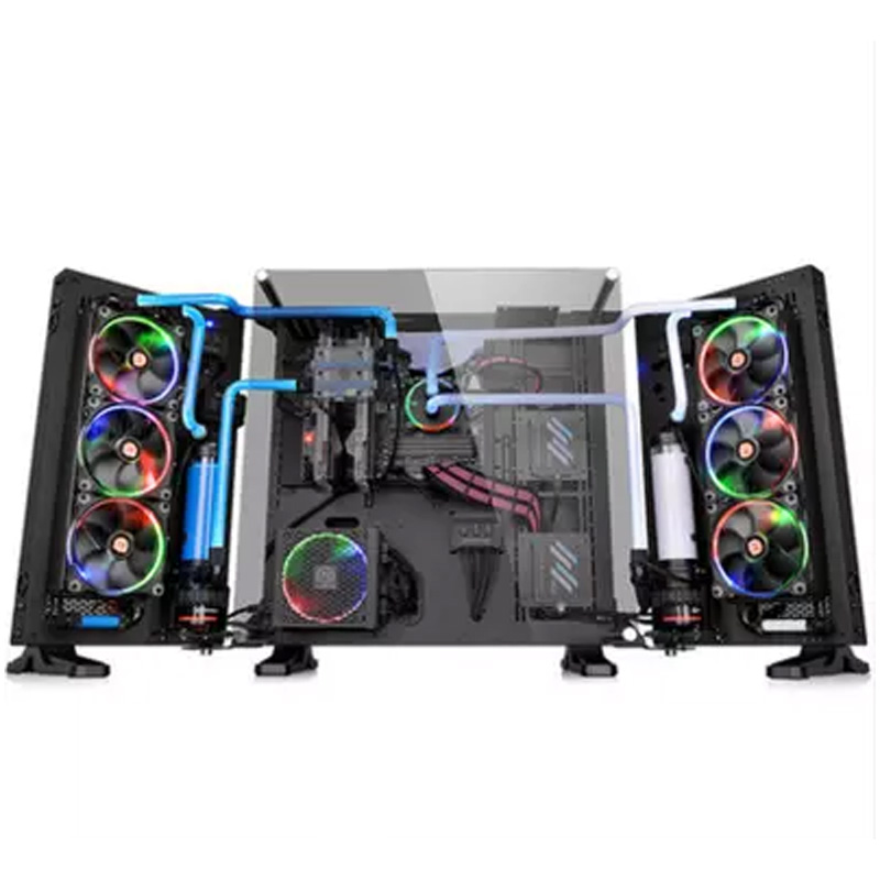 Tt chassis Core P7 TG wings extended chassis tempered glass E-ATX motherboard main chassis ...