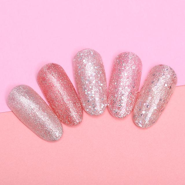 LILYCUTE 8ML Glitter Sequins Gel