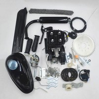 80cc 2 Stroke Motor Engine Kit for DIY Motorized Bicycle Push Bike Complete Petrol Cycle Motor set motorcycle kit
