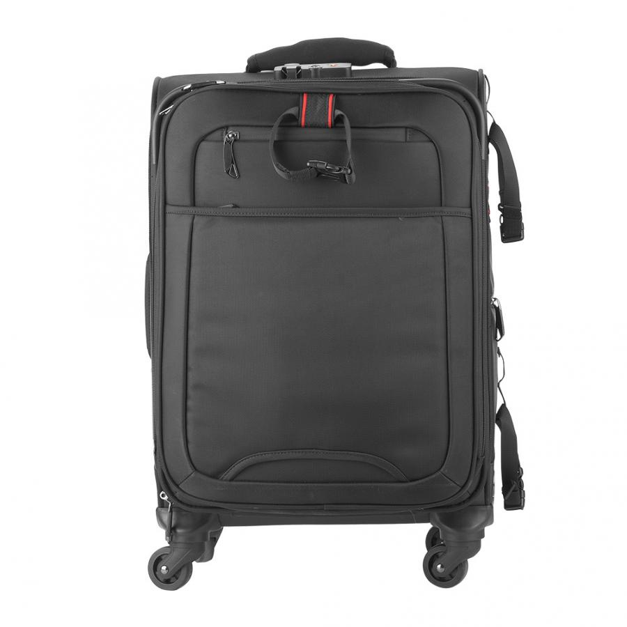Caden K10 Silent Wheel Travel Photography Photo Camera Backpack Rolling Suitcase Trolley Bag Sturdy 360 Degrees