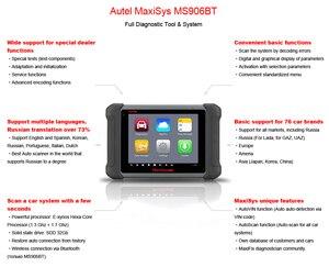 Image 2 - Autel MaxiSys MS906BT OBD2 Tự Động Công Cụ Chẩn Đoán Máy Quét ECU Mã Hóa Như MK908