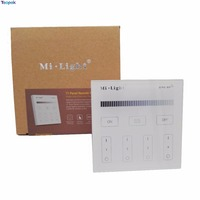 Mi Light T1 Wall Mount 4 Zone Brightness Dimming Smart Panel Remote Controller Led Dimmer AC220V