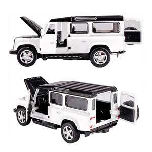 MINOCOOL 1/32 Land Rover Defender Alloy Model Car Toy