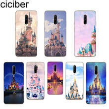 ciciber Pink Castle Phone Cases For Oneplus 7 Pro 1+7 Pro Soft TPU Back Cover for Xiaomi 9 Coque For Redmi Note 7 6 Pro Funda