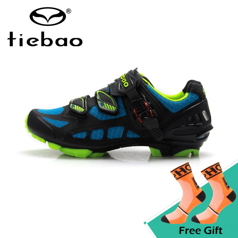 Tiebao снаружи горный велосипед дышащая обувь Auto-lock супер свет MTB обувь Высокое качество Для Мужчин велосипедные туфли Zapatos bicicleta