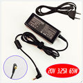 For Lenovo G560 G570 G580 G770 K47G E46L Laptop Battery Charger / Ac Adapter 20V 3.25A 65W