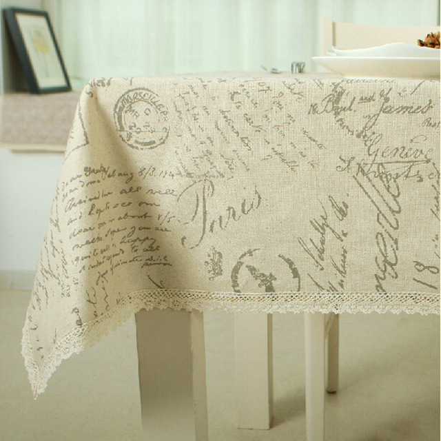 2017 Arrival Lace Table Cloth Design World Map High Quality Tablecloth  Decorative Elegant Table Cloth Linen