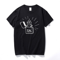 Life Is stranna Custom Man футболки хлопковая футболка с коротким рукавом