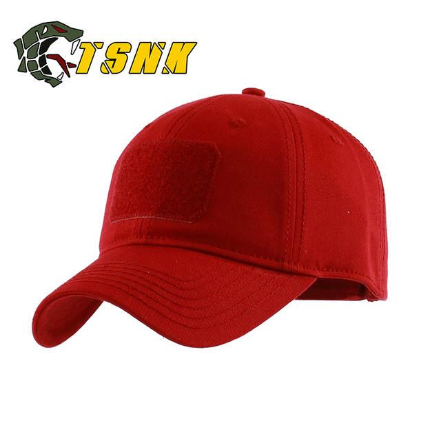 326c8e2371a placeholder TSNK Man Woman Tactical Cap Cotton Basic Running Hat Fashion  Baseball Cap Sunhat Fishing Cap Fashion