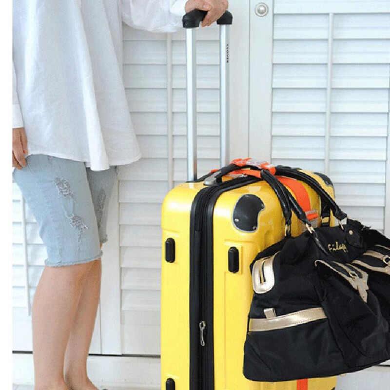 Hebilla de botón ajustable seguridad portátil piezas para mochilas maleta bolsa suspensión equipaje Correa cinturón aviones accesorios de viaje suministros