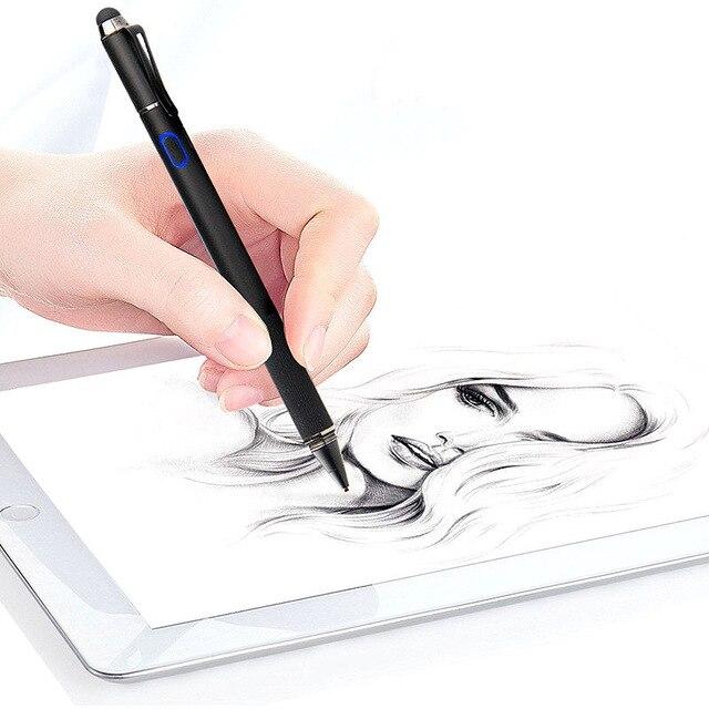Stylet de haute précision stylet actif écran tactile capacitif pour iPad 9.7 2017 2018 Pro 9.7 10.5 11 12.9 pouces tablette crayon en métal