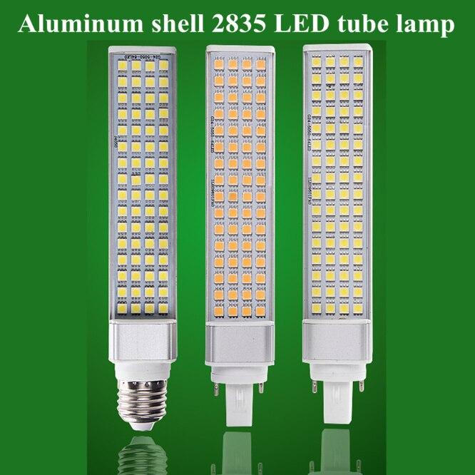 10 PCS/LOT Tube lamp LED Light IP20 2835 Lamp beads 220V E27 G24-2/4pin led bulb 5W 7W 9W 10W 12W Corn Bulb