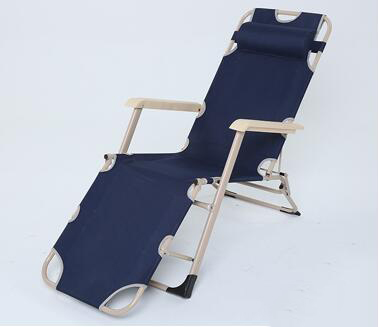 Portable folding chair lunch break chairs recline chair summer siesta chair lounge chair beach chair