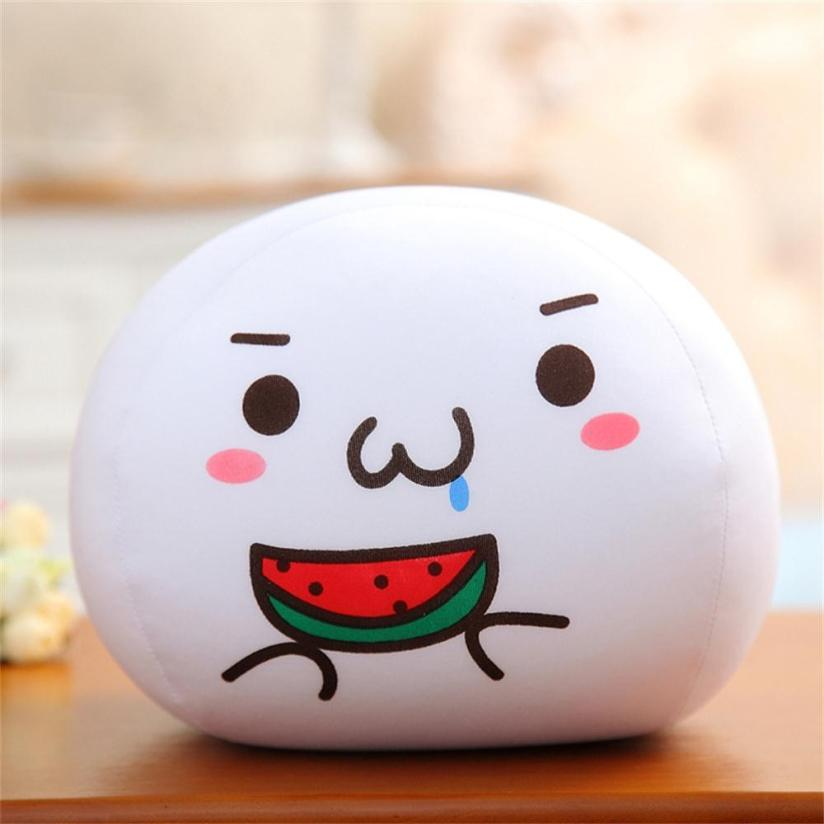 May 20 High Quality Emoji White Foam Particles Bubble Cushion Pillow Plush Toy Doll420