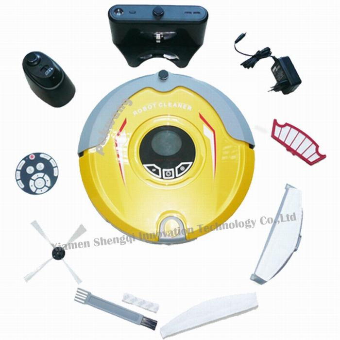 2018 Pakwang Most Advanced 310C Robot Vacuum Cleaner Multifunction (Sweep,Vacuum,Mop,Sterilize) Home Floor Cleaning Robot 2017 most advanced robot vacuum cleaner for home a325 sweep vacuum mop sterilize schedule intelligent home cleaner