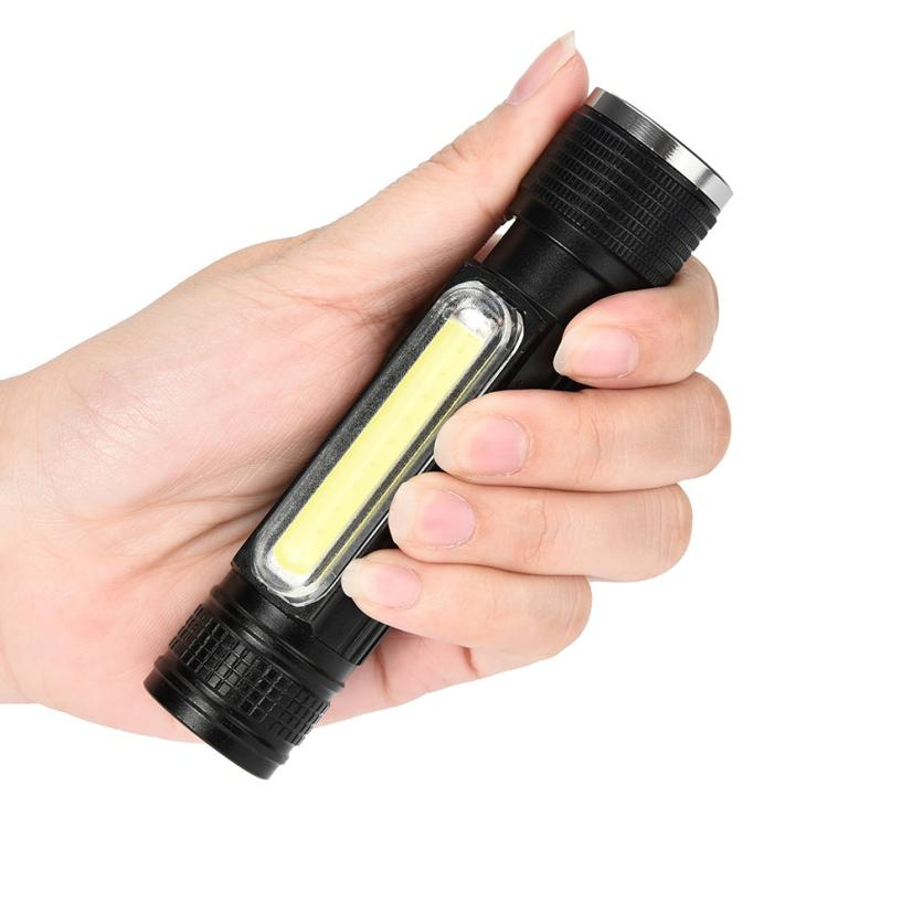 NEW Portable Zooma 8000LM XML-T6 Flashlight COB LED USB Rechargeable  Lighting Torch AP0812 ai ran zooma lb1