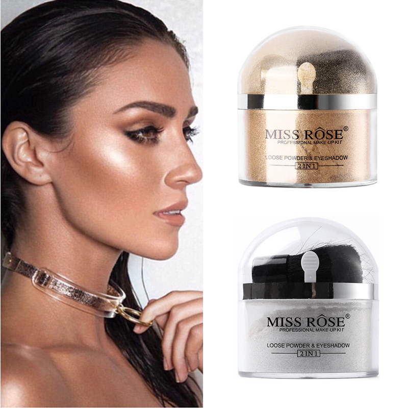 highlighter makeup silver miss eyeshadow rose powder gold glitter face eye loose shadow single kit palette beauty mouse zoom