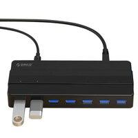 USB3.0 Hub Splitter 7 Port High Speed Transmission Expander HUB Splitter USB 3.0 Dual Core 5 Gbps Transmission Speed