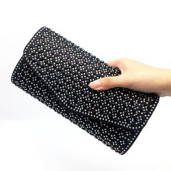 Women Evening Bags Handbag Luxury Designer Rhinestone Crystal Clutch Evening Bags for Womens Wedding Party Bag Purse Bolsas Evening Bags