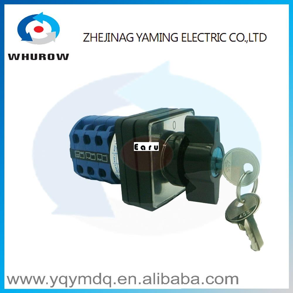 LW26-20/3S High dc voltage automatic electrical changeover rotary cam switch with a lock 3 poles 20A sliver point contacts rear wheel hub for mazda 3 bk 2003 2008 bbm2 26 15xa bbm2 26 15xb bp4k 26 15xa bp4k 26 15xb bp4k 26 15xc bp4k 26 15xd