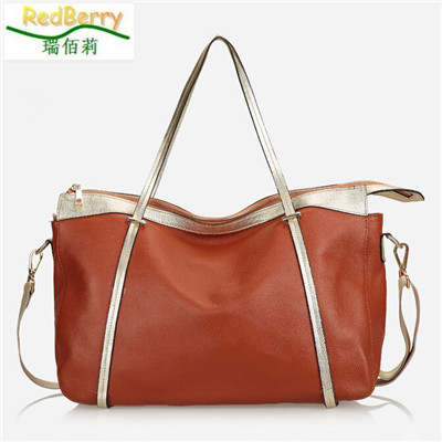 New Brand Casual Women Bags Genuine Leather Messenger Bags Vintage Fashion Shoulder Bag Solid Hot Sale Striped Crossbody Bag 2015 brand new golden goose casual fashion genuine leather women
