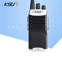 (1 PCS)KSUN T-K3 Ham Two Way Radio walkie talkie Dual-Band Transceiver BUXUN T-K3