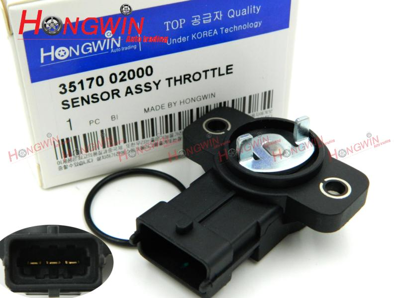 35170 02000 Throttle Position Sensor Fits Hyundai I10 06 Kia Morning Picanto 04-07 35102-02910,3510202910,35102 02910,3517002000