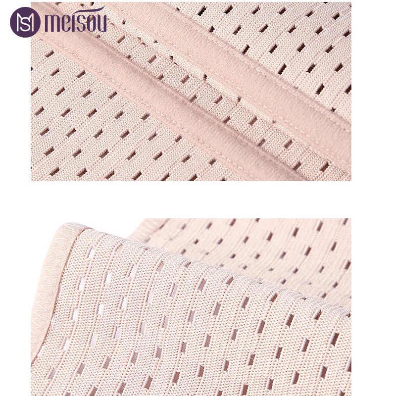 Meisou бренд Талии Тренажер Горячий Женский корректирующий пояс корректирующий корсет для похудения тела Корректирующее белье большого размера
