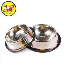 Metal dog cat food bowl cat dish stainless steel dog bowl pet sterile tableware pet feeding