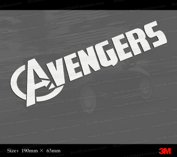 Avengers movie logo M147 avengers alliance The United Statess
