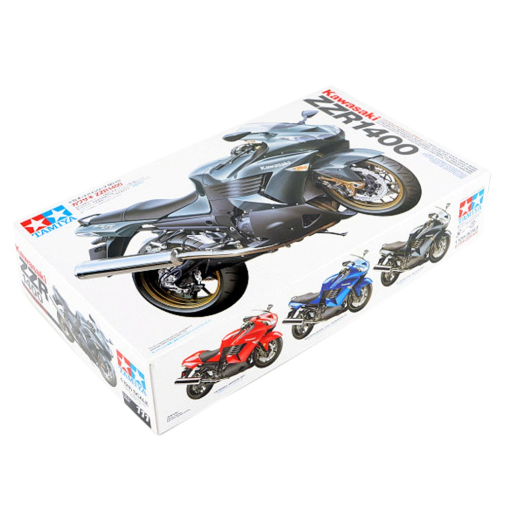OHS Tamiya 14111 1/12 ZZR1400 Scale Assembly Motorcycle Model Building Kits G when tamiya model motorcycle ducati ducati 1199 1 12 panigle s 14129 model buiding kits