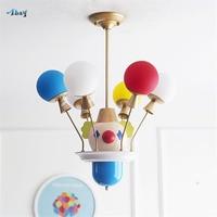 Творческий мультфильм Джокер шар форма потолочные светильники для гостиной спальня исследование детская комната светильники детская комн
