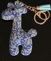 Шику женщины сумка подвески, Цвет камней шику жираф брелки блеск бумажник кошелек подвески ручной подвески
