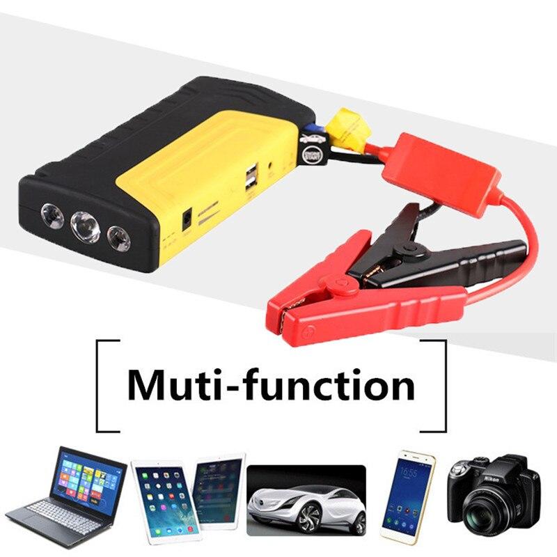 Auto Starthilfe 12 V Auto Startvorrichtung Bewegliche Energienbank auto Ladegerät für Autobatterie Booster Buster auto lade für telefon