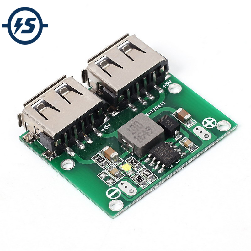 Other Industrial Power Supplies Industrial Power Supplies 9V/12V/24V to 5V DC-DC Step Down Charger Power Module Dual USB  Voltage Board