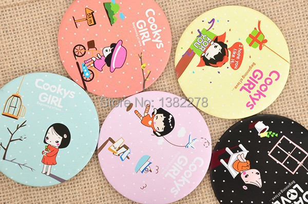 Amazing U003c10pcs/lotu003ecartoon Girl Mirror Baby Shower Return Gifts Favors Birthday