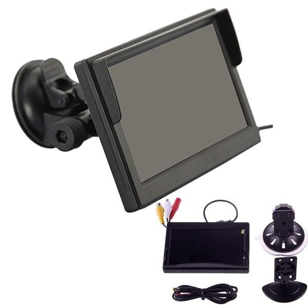 По DHL или EMS 50 picecs 5 дюймов цветной TFT lcd мини автомобильный монитор заднего вида парковочный монитор заднего вида экран