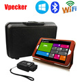 VPECKER Easydiag Wireless OBDII Full Auto Diagnostic Tool V8.5 +Win10 Tablet Support Wifi Windows 10 Full Systems Better Than X4