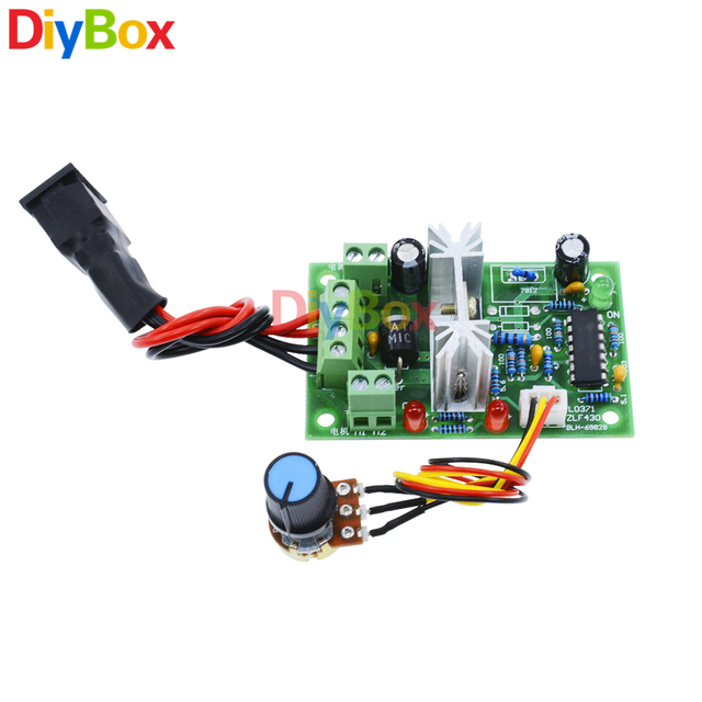 Aliexpress com : Buy 6 30V DC Motor Speed Controller Reversible PWM Control  Forward / Reverse switch from Reliable Motor Controller suppliers on Diy